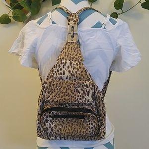 Handbags - Leopard Small Bag/Backpack
